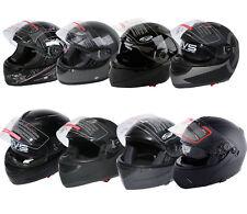 DOT Flip up Modular Full Face Motorcycle Helmet Street Motocross S M L XL US New
