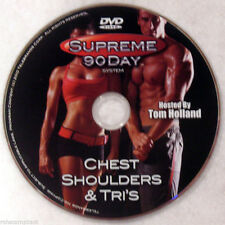 Supreme 90 Day Workout - Chest, Shoulders & Tri's - New Dvd