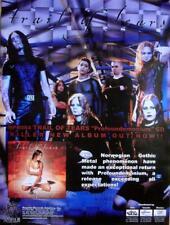 TRAIL OF TEARS POWERFULLY RARE ORIGINAL PROFOUNDEMONIUM CD / LP COVER ART POSTER