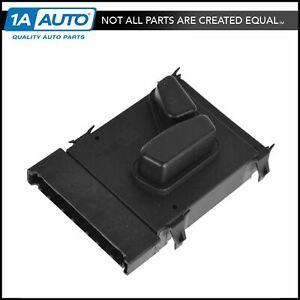 Mopar 56049433AF Power Seat Adjuster Switch Black Front Driver Side LH LF New