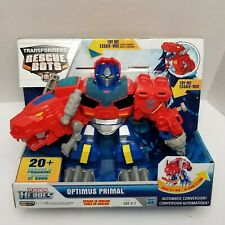 Playskool Heroes Transformers Rescue Bots Optimus Primal 20 Sounds & Phrases NEW