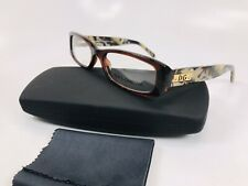 ✴New Dolce Gabbana DG3063 861 Brown & Marble with Gold Eyeglasses 52mm with Case
