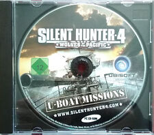 Silent Hunter 4 Expansion Pack U boat Missions Used Disk Only Installed & Tested
