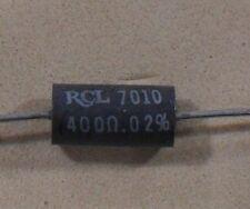 Ultra Precision Wire Wound Resistors - to 0.02% Tolerance - NEW RCL