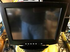 "13.3""Monitor Touch Screen Elo Tm-1000 With Card Reader And All Cables"