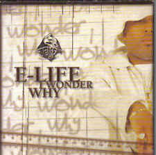 E-Life-I wonder Why cd single