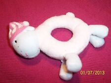 Zapf Creations BABY ANNABELL Doll BRAND NEW Lamb RATTLE with Knitted CAP