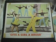 GIVE A GIRL A BREAK, orig 1953 LC #4 (Gower Champion, Debbie Reynolds)