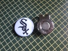 GOLF / Chicago White Sox Logo Golf Ball Marker/with Magnet Hat Clip New!!