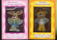 DIDDL Pimboli Mimihopps ANGEL GUARDIAN 2 Miniature Resina Dipinta Mano 4,5cm
