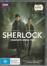 SHERLOCK complete Series Two.....DVD... Reg 4 ** Brand New **
