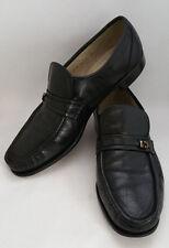 Florsheim Imperial Como Black Leather Loafers Mens 13 B Moc Slip-On Dress Shoes
