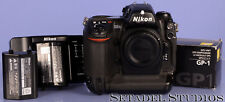 NIKON D2H 4.1MP DIGITAL SLR CAMERA BODY W/ GP-1 GPS UNIT +EXTRA BATTERY