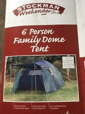 Stockman 6 Person Dome Tent