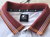 VTG Florida State Seminoles FSU Embroidered Team Starter XL White Polo Shirt
