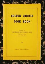 ST ELIZABETH HUNGARIAN CHURCH COOKBOOK CATHOLIC BUFFALO NY 1956 GOLDEN JUBILEE