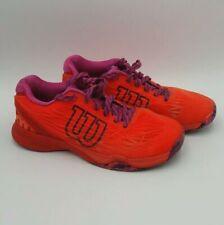 WILSON tennis shoes sneakers - Orange Women size 8