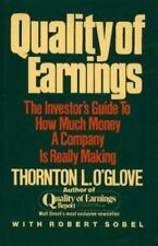 Quality of Earnings: Investor's Guide How Much Money a Company Is Really Making
