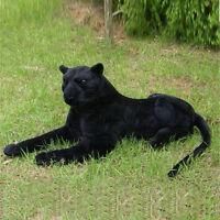 51'' Giant Black Panther Leopard Plush Soft Stuffed Animal Emulational Kids Gift