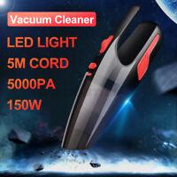 120W Hand Held Car Vacuum Cleaner Home Wet & Dry Van Portable Vaccum 5000pa O