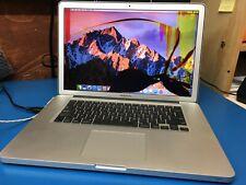 "Apple MacBook Pro 15"" mid 2010 A1286 2.66 GHz i7 8Gb RAM unibody LCD cracked"
