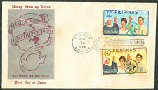 1966 Philippines MANILA SUMMIT CONFERENCE First Day Cover - B