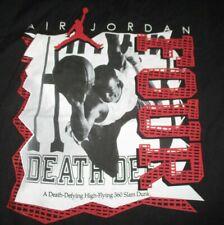 "Nike MICHAEL JORDAN ""A Death-Defying High-Flying 360 Slam Dunk"" (2XL) T-Shirt"
