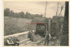 Foto, Frankreichfeldzug, Eisenbahnunglück vor Douai (N)19605
