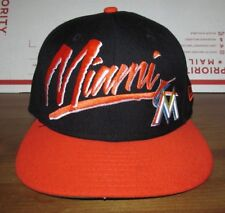 New Era Miami Marlins Baseball Hat Snapback Cap 9fifty MLB