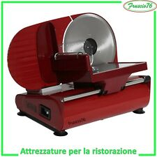 AFFETTATRICE Elettrica RGV AUSONIA 190 Rossa 19 Slicer Lama Acciaio 19 cm Nuova