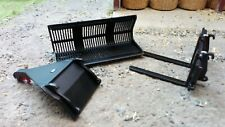 AT COLLECTIONS 1:32 SCALE EUROSTEEL LOADER ATTACHMENT SET