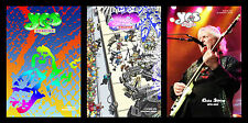 Yes Fanzine Lot of 3 Chris Squire Steve Howe Jon Anderson Wakeman White Downes
