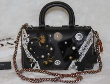 💚COACH Double Dinky Elvis Collage Bag Top Handle Purse Limited Ed 16 of 63 RARE