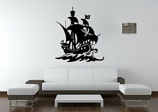 Wall Sticker Mural Decal Vinyl Decor Pirate Ship Pirates Of The Caribbean