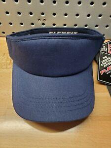 Navy Blue Flexfit Mens Visor Hat Golf