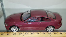 1/18 BMW 645Ci COUPE DARK RED AND MATCHING INTERIOR BY KYOSHO