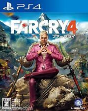 Used Far Cry 4 UBISOFT SONY PS4 PLAYSTATION JAPANESE IMPORT JAPANZON
