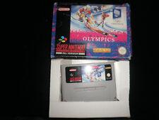Super Nintendo, Snes -  winter olympics -  boxed