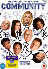 COMMUNITY - SEASON 3 - DVD - REGION 2 UK