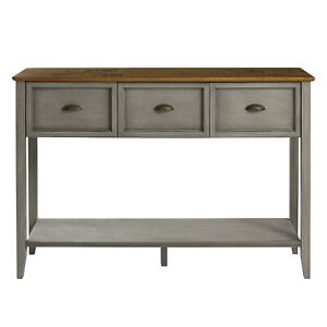 Stratford 3 Drawer Buffet Table