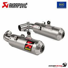 Akrapovic pair of exhaust Euro4 approved titanium Ducati Hypermotard 950 2019>