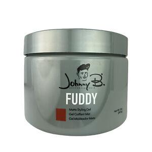 Johnny B Fuddy Matte Styling Hair Gel 12 oz. Jar