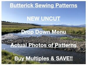 Butterick ONLY Patterns New Uncut Sewing Pattern Costumes Dress Baby Top Pant