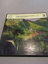 BOX SET Of 4 VINYL RECORDS. MOZART Serenades