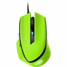 Sharkoon SHARK Force, Maus, optisch, 1600dpi, USB, 6 Tasten, grün
