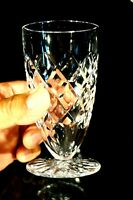 Beautiful Inwald Heavy Crystal Water Glass