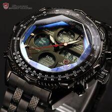 Shark SH116 Mens Black Dial Analog and Digital Quartz Watch