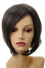 Toupet Haarteil Haarersatz Aufsatz Haarauffüller groß lang Grau-Braun L056-44