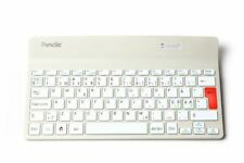 PENCLIC Mini Keyboard K2 wireless weiss Tastatur QWERTZ