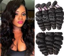 8A Peruvian Virgin Hair Loose Wave Hair Style  Peruvian 4 Bundles /200G Hair
